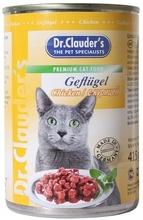 Dr.Clauder`s 415 гр./Доктор Клаудер консервы для кошек с курицей