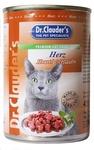 Dr.Clauder`s 415 гр./Доктор Клаудер консервы для кошек с сердцем