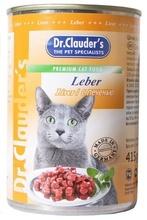 Dr.Clauder`s 415 гр./Доктор Клаудер консервы для кошек с печенью