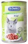 Dr.Clauder`s 415 гр./Доктор Клаудер консервы для кошек с дичью