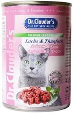Dr.Clauder`s 415 гр./Доктор Клаудер консервы для кошек с лососем и тунцом