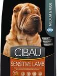 Farmina Cibau Sensitive Lamb Medium & Maxi 12 кг./Фармина Сибау Полнорационное и сбалансированное питание для взрослых собак с чувствительным пищеварением и аллергией.