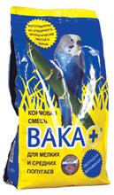 Вака Плюс 500 гр./Корм для мелких и средних попугаев