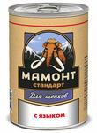 Мамонт Стандарт 340 гр./ с Языком влажный корм для щенков