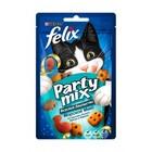 Felix Party Mix 20 гр./Феликс Лакомство для кошек Морской микс, со вкусом лосося, трески и форели