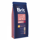 Brit Premium Premium Junior L 15 кг./Брит сухой корм для щенков крупных пород
