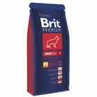 Brit Premium Adult Large 15кг./Брит сухой корм для для взрослых собак крупных пород