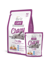 Brit Care Cat Crazy I'm Kitten 2 кг./Брит Каре сухой корм для котят с курицей и рисом