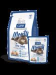 Brit Care Cat Monty I'm Living Indoor 400 гр./Брит Каре сухой корм для кошек домашних с цыпленком и рисом