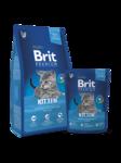 Brit Premium Cat Kitten 300 гр./Брит Премиум сухой корм для котят с курицей