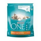 One Adult 750 гр./Ван Сухой корм для взрослых кошек курица и цельные злаки