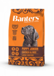 Banters Puppy Junior Large 3 кг./ Курица с рисом сухой корм для щенков
