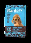 Banters Puppy Junior 3 кг./Ягненок с рисом сухой корм для щенков