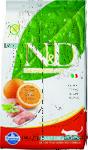 Farmina N&D Cat Fish & Orange Adult 10 кг./Фармина сухой беззерновой  корм для кошек с рыбой и апельсином