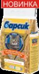 Барсик соломенный 4,54 л./Наполнитель для кошек созданный из соломы зерновых культур