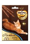 Мнямс 3*4 гр./Деликатес лакомые палочки  для кошек с камбалой
