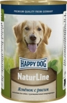 Happy Dog 400 гр./Хеппи Дог консервы для собак ягненок с рисом