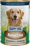 Happy Dog 400 гр./Хеппи Дог консервы для собак телятина овощи