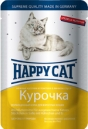 Happy Cat 100 гр./Хеппи Кет консервы  для кошек курица в соусе