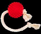 Зооник 16473/Игрушка для собак Мяч на веревке