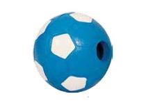 TRIOL Игрушка для собак Мяч футбольный  с колокольчиком 6,5 см./J-24-120