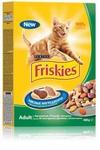 Friskies Adult 400 гр./Фрискис сухой корм для взрослых кошек с кроликом, курицей и овощами