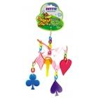 """Dezzie 5614009//Деззи игрушка для птиц подвеска """"Игрок"""""""