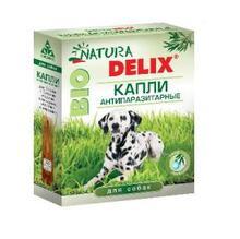 Natura Delix BIO//Деликс Био капли антипаразитарные для собак 3 пипетки