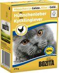 Bozita  370 гр./Бозита консервы для кошек кусочки в желе  с Печенью куриной