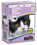 Bozita  370 гр./Бозита консервы для кошек в соусе с Креветками