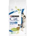 Cat Chow Feline 15 кг./Кет Чау сухой корм для кошек 3 в 1 с индейкой