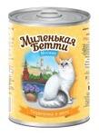Миленькая Бетти 400 гр./Консервы для кошек Москва Перепелка в желе