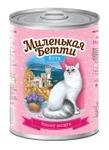 Миленькая Бетти 400 гр./Консервы для кошек Ялта Мясное ассорти в желе