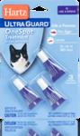 Hartz UltraGuard OneSpot Treatment H01915//Хартс капли от блох и блошиных яиц для кошек и котят