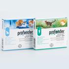 Profender//Профендер капли антигельминтик для кошек весом от 2,5 до 5 кг