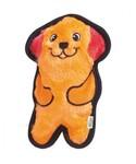 Petstages/Игрушка для собак Invinc Mini Собачка без наполнителя с пищалками 15 см