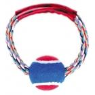 Dezzie 5608068//Деззи игрушка для собак Тяни-толкай Кольцо с мячом 15 см
