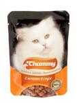 Chammy  85 гр./Чамми консервы для кошек Печень в соусе