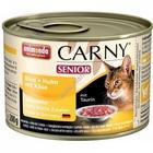 Animonda CARNY SENIOR 200 гр./Анимонда Консервы для стареющих кошек с говядиной, курицей и сыром