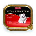 Animonda Vom Feinsten Kitten 100 гр./Анимонда Консервы для котят  с говядиной