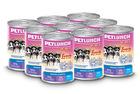 Lunch for pets консервы для собак  400 гр.мясное ассорти для щенков кусочки в  в желе/крышка ключ/
