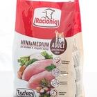 Racioniq Mini & Medium Adult Turkey 1 кг./Сухой корм для взрослых собак малых и средних пород, диетическое мясо индейки