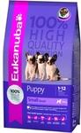 Eukanuba Dog Puppy 3кг//Эукануба сухой корм для щенков мелких пород