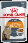 Royal Canin Intense Beauty 85 гр./Роял канин консервы в фольге для поддержания красоты шерсти кошек в соусе
