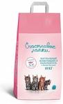 Счастливые лапки 10 кг./Наполнитель для кошек комкующийся