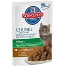 Hills Science Plan Kitten Healthy Development 85 гр./Хиллс консервы для котят с индейкой
