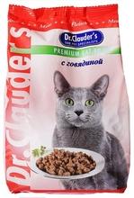 Dr. Clauder//сухой корм для кошек с говядиной 400 г