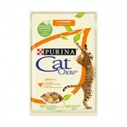 Cat Chow 85 гр./Кет Чау паучи для кошек кусочки в желе с  курицей и кабачками