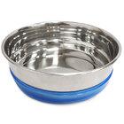 TRIOL Миска металлическая с синей резинкой 0,49л/30261098