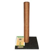 HOMECAT Когтеточка Макси 41х41х63 см столбик для кошек ковролин джут серый